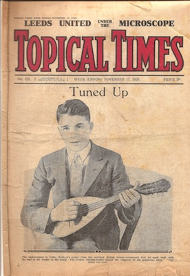 Teddy Baldock Topical Times